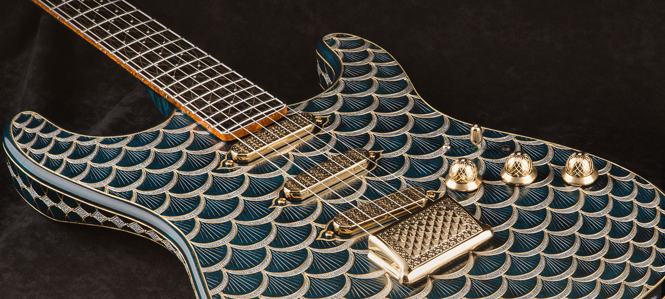 Fender Pine Cone Stratocaster Guitar From Dreams