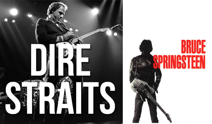 are dire straits and bruce springsteen have similar riffs - Bruce Springsteen Christmas Album