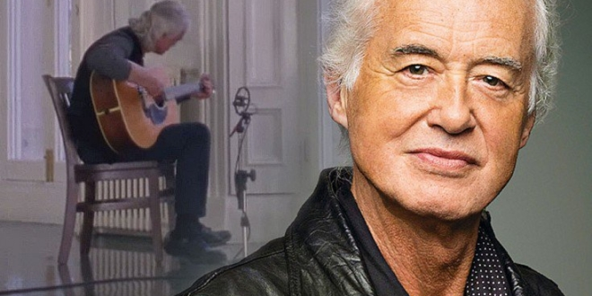 jimmy page jams alone for two and half minutes on an acoustic guitar direstraits. Black Bedroom Furniture Sets. Home Design Ideas