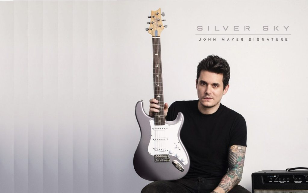 Full Details On John Mayer S Silver Sky Prs Guitar