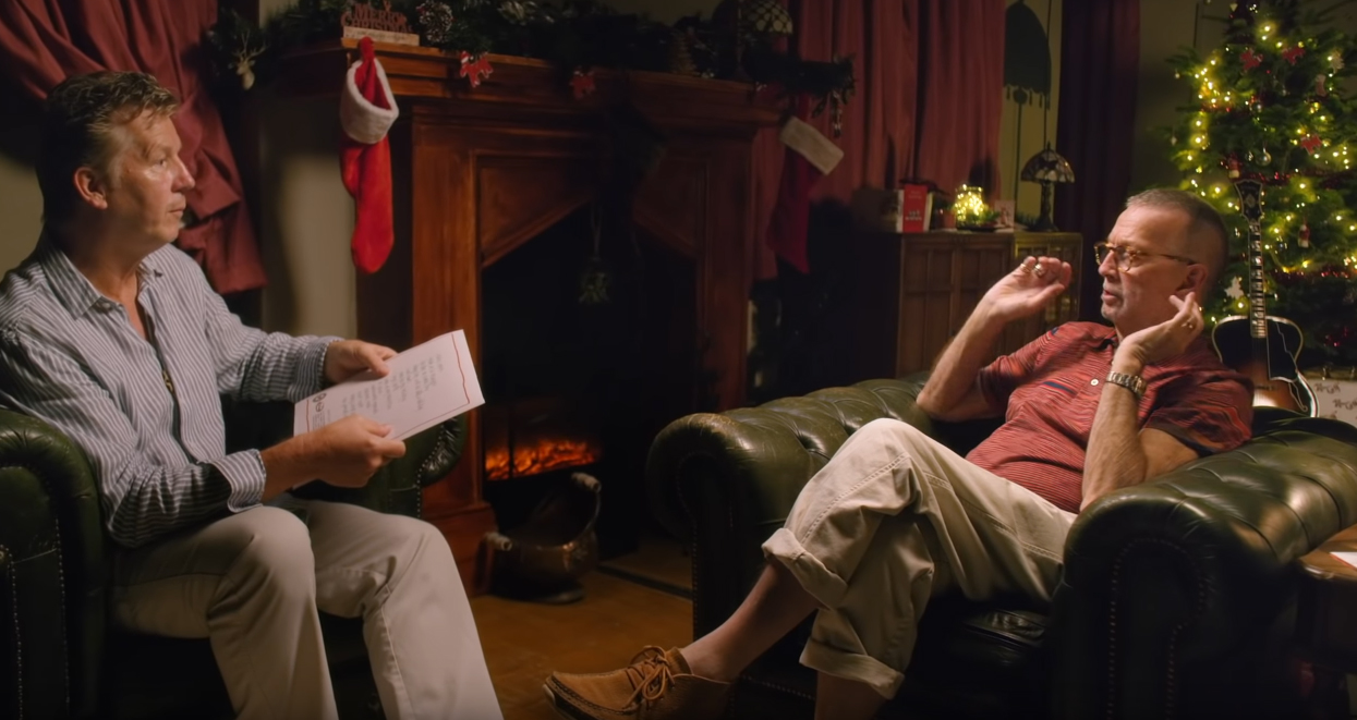 Watch Eric Clapton\'s Holiday Short film, \'A Clapton Christmas ...