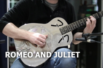 "New Cover Video for ""Romeo and Juliet"" in Performance by David Claux"