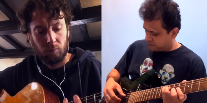 """Romeo and Juliet"" – Dire Straits Cover by Luke Jordan and Sumith Ramachandran"