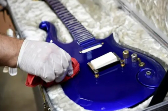 Prince's Electric Blue Guitar Sold for More Than $500,000 at Auction