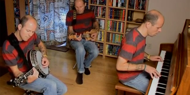 """Listen to How It Sounds """"Sultans of Swing"""" on Banjo-Mandolin, Ukulele, and Piano"""