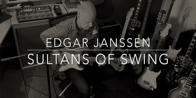 """Sultans of Swing"" – Dire Straits Cover by Edgar Janssen"