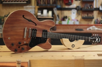 Guitar Stories: Full Video Process of Making Guitar Out of One Shelf
