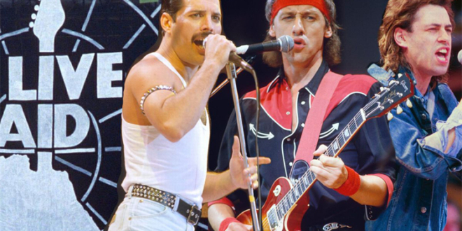 35th Anniversary of Live Aid Concert – The Day the Music Changed the World