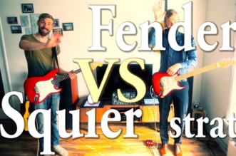 Fender vs Squier Stratocaster – Which One Sounds Better? (Tone Battle)