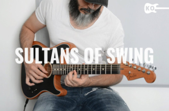 """Sultans of Swing"" – Acoustic Guitar Cover by Kfir Ochaion – Fender Acoustasonic"