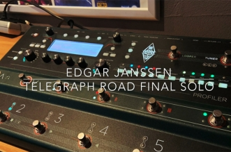 "Listen to How It Sounds the Final Solo of ""Telegraph Road"" on Kemper Profiler Stage"