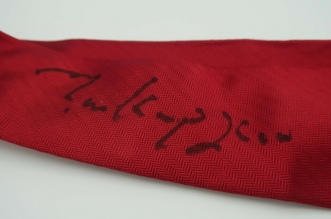 Mark Knopfler's Red Tie Is On Auction!
