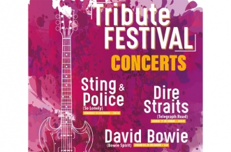 Tribute Festival Concerts: Dire Straits, Sting & Police, David Bowie – December 2020
