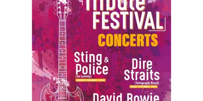 Tribute Festival Concerts: Dire Straits, Sting & Police, David Bowie – December 2020