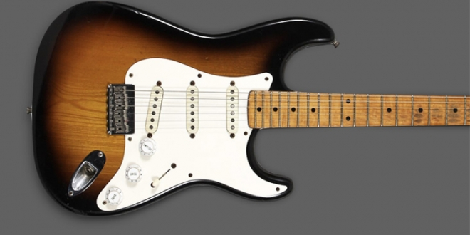 Clapton's 1954 Fender Stratocaster Is On Auction for a $1 Million