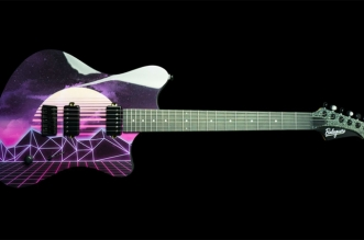 New Electric Guitar: The Espada Synthwave – Limited Edition