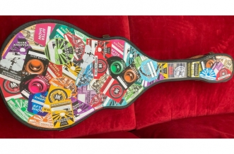 Mark Knopfler Tour Pass Acoustic Guitar Case Is On Auction Now!