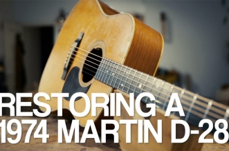 Guitar Stories: Restoring a 1974 Martin D-28 with Lars Dalin
