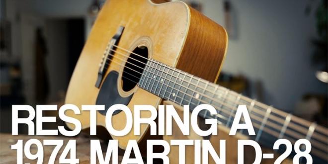 Guitar Stories: Restoring a 1974 Martin D-28 with Lars Dalin