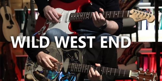 """Wild West End"" – Dire Straits Cover by David Claux"