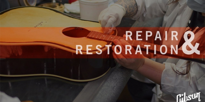 Introducing Gibson's Repair & Restoration Service (TV Video Episode)