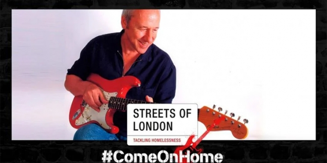 For The Streets of London – Mark Knopfler Has Donated 2011 Signed Fender Stratocaster